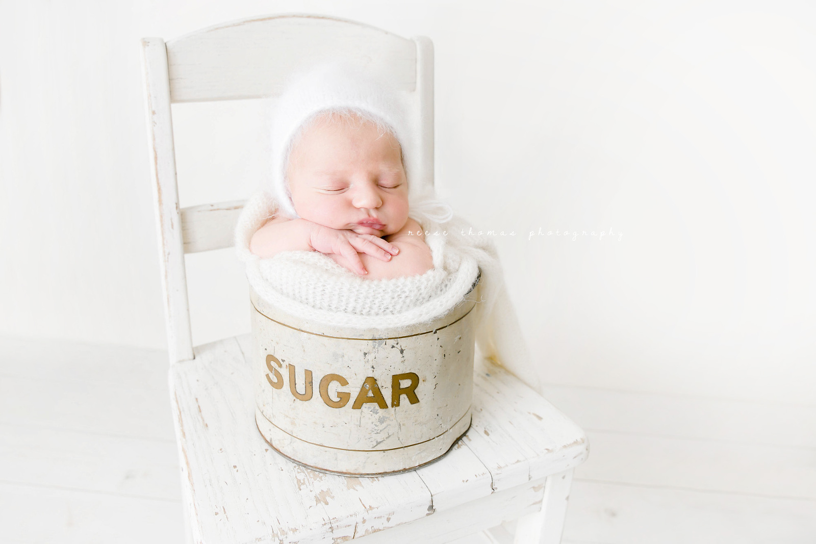Orange-County-Newborn-Portfolio-Newborn-Boho-Baby-in-Sugar-Tin