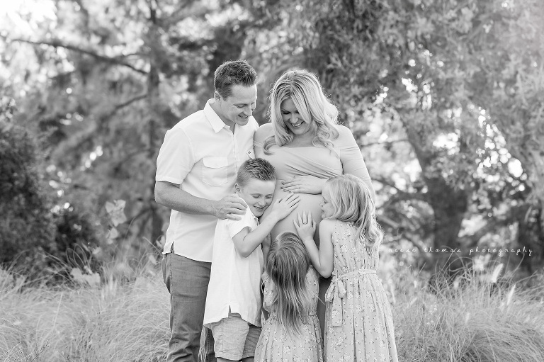 KING-Orange-County-Newborn-Photographer-Outdoor-Family-Maternity-Session-Black-and-White