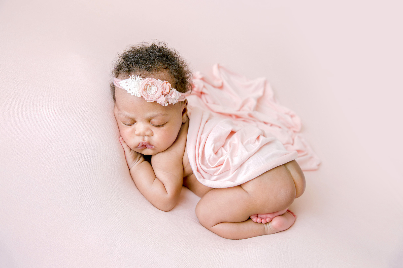 Orange-County-Newborn-Portfolio-Newborn-Baby-Girl-in-Pink